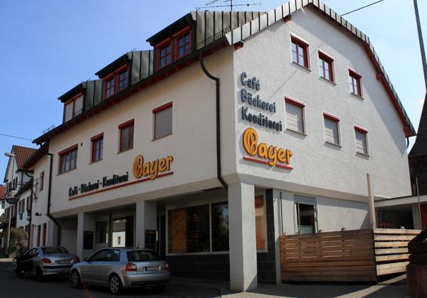 Albkorn-Bäckerei Bayer in Reutlingen-Mittelstadt. Foto: Gerhard Schindler