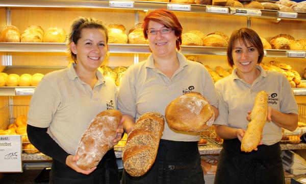 Spezialitäten der Albkorn-Bäckerei Knöpfle aus Ehingen. Foto: Gerhard Schindler