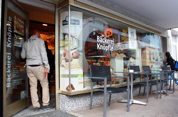 Filiale der Albkorn-Bäckerei Knöpfle in Ehingen-Kirchen. Foto: Gerhard Schindler