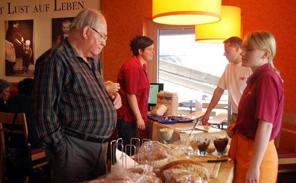 Brotfest der Bäckerei Bayer zum Beitritt bei Albkorn. Foto: Martin Lang