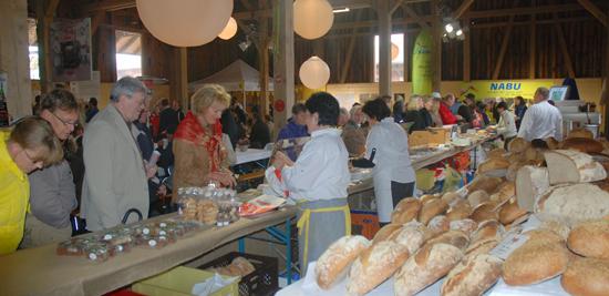 Albkorn-Halle mit Brot-Bar