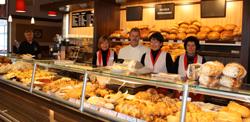 Albkorn-Bäckerei Glocker Filiale REWE Münsingen Lichtensteinstraße. Foto: Gerhard Schindler