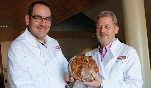 Michael Haug (links) folgt auf Klaus-Dieter Glocker als Albkorn-Sprecher. [Foto: Gerhard Schindler]