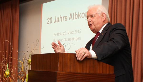 Albkorn-Initiator Wolfgang Sautter [Foto: Gerhard Schindler]