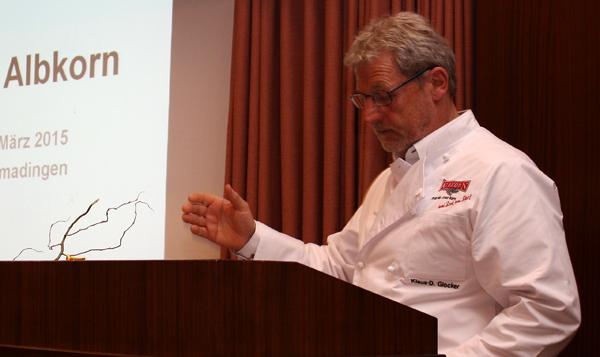 Klaus-Dieter Glocker, Albkorn-Bäckermeister der ersten Stunde. [Foto: Gerhard Schindler]