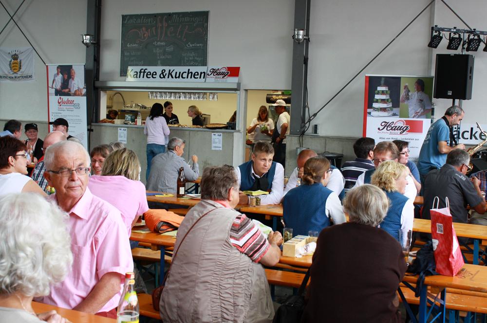 Für Kaffee und Kuchen sorgten die Albkorn-Bäckereien Glocker und Haug.