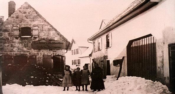 Das alte Backhaus der Bäckerei Haug